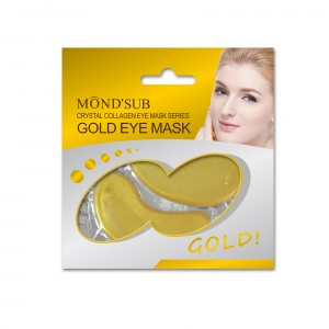 Buy Mond'Sub Bio- Gold Collagen Eye Mask - Nykaa