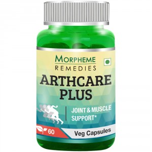 Buy Morpheme Remedies Arthcare Plus Capsules for Joint & Muscle Support - 500mg Extract - Nykaa