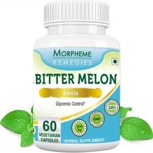 Buy Morpheme Remedies Bittermelon (Karela) Capsules for Diabetic - 500mg Extract - Nykaa