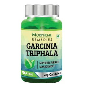 Buy Morpheme Remediess Garcinia Cambogia Triphala - Cleansing & Weight Loss - 500mg Extract - Nykaa