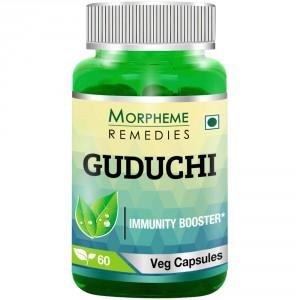 Buy Morpheme Remediess Guduchi (Tinospora Cordifolia) Immunity Booster - 500mg Extract - Nykaa