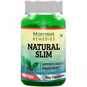 Buy Morpheme Remedies Natural Slim - Garcinia, Triphala, Guggul For Weight Loss - 500mg Extract - Nykaa