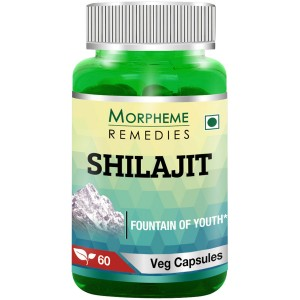 Buy Morpheme Remedies Shilajit Capsules  Fountain Of Youth - 500mg Extract - Nykaa