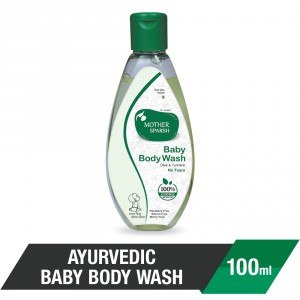 Buy Mother Sparsh Ayurvedic Baby Body Wash - Nykaa