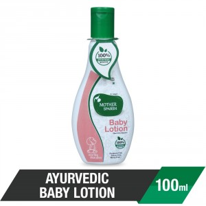 Buy Mother Sparsh Ayurvedic Baby Lotion - Nykaa