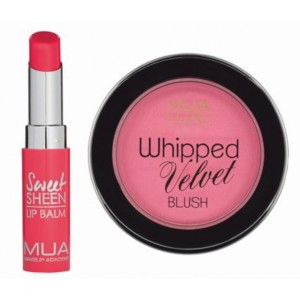 Buy MUA Pink Blush & Lip Balm Combo - Nykaa
