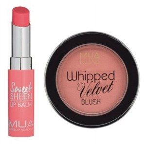 Buy MUA Peach Blush & Lip Balm Combo - Nykaa
