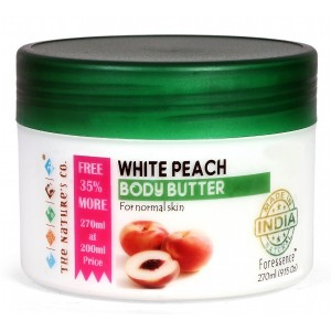 Buy Herbal The Nature's Co. White Peach Body Butter - Nykaa