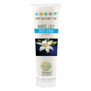 Buy The Nature's Co. White Lily Body Scrub - Nykaa
