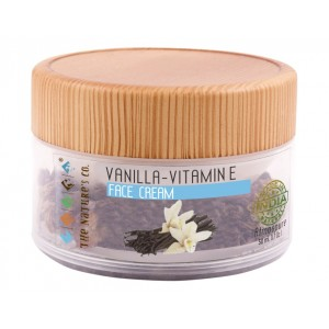 Buy The Nature's Co. Vanilla Vitamin E Face Cream - Nykaa