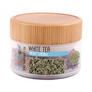 Buy The Nature's Co. White Tea Night Cream - Nykaa