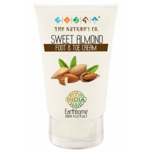 Buy The Nature's Co. Sweet Almond Foot and Toe Cream - Nykaa
