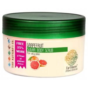 Buy The Nature's Co. Grapefruit Sugar Body Scrub  - Nykaa