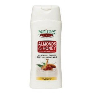 Buy Herbal Nature's Essence Almonds & Honey Deep Cleansing Milk - Nykaa