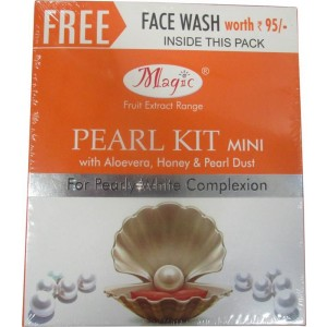 Buy Nature's Essence Pearl Facial Kit Mini + Free Face Wash Worth Rs.65 Inside This Pack - Nykaa