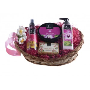 Buy Natural Bath & Body Joyful Baskets - 3 - Nykaa