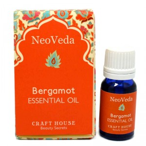 Buy NeoVeda Bergamot Essential Oil - Nykaa