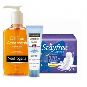 Buy Personal Care Essentials - Stayfree & Neutrogena Combo 1 - Nykaa