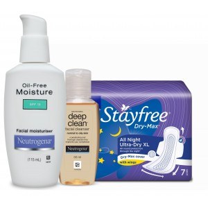 Buy Personal Care Essentials - Stayfree & Neutrogena Combo 3 - Nykaa