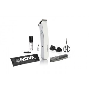 Buy Nova NHT 1047 Pro Skin Advance Trimmer (White) - Nykaa