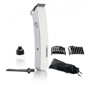 Buy Nova Smart Cordless NHT 1046 Trimmer (White) - Nykaa