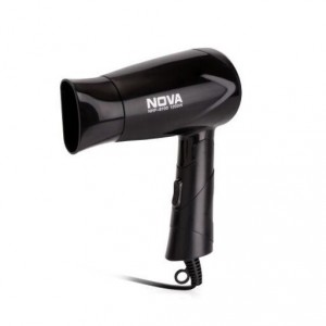 Buy Nova Silky Shine 1200 W Hot And Cold Foldable NHP 8100 Hair Dryer (Black) - Nykaa