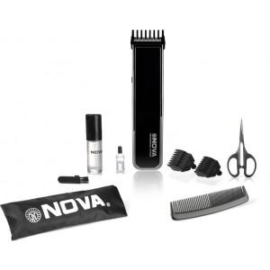 Buy Nova NHT 1055 BL Advanced Skin Friendly Precision Trimmer For Men (Black) - Nykaa