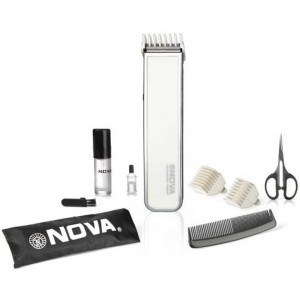Buy Nova NHT 1055 W Advanced Skin Friendly Precision Trimmer For Men (White) - Nykaa