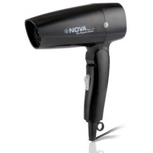 Buy Nova 1200 W Themo Protect Foldable NHP 8102 Hair Dryer (Black) - Nykaa