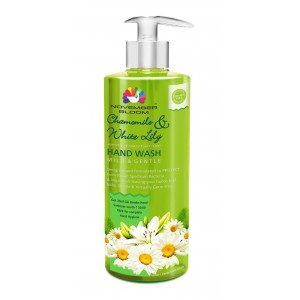 Buy November Bloom Chamomile and White Lily Hand Wash Bottle + Free Hand Sanitizer - 35ml (Worth Rs. 50) - Nykaa