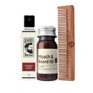 Buy Herbal Nykaa Beard Grooming Kit for Men - Nykaa
