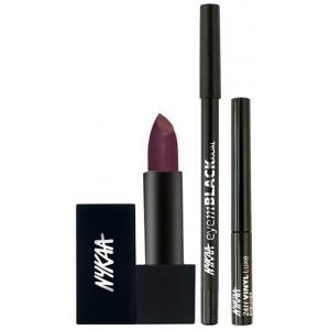 Buy Nykaa Love The Line Eyes & Lips Combo - Nykaa