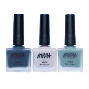 Buy Nykaa Matte Nail Enamel - Living in the Wild Combo - Nykaa
