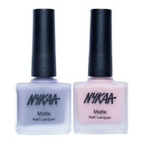 Buy Nykaa Matte Nail Enamel - Lovey Dovey Combo - Nykaa