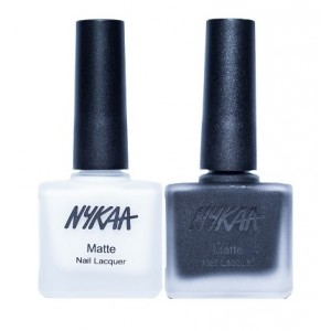 Buy Herbal Nykaa Matte Nail Enamel - Check Mate Combo - Nykaa