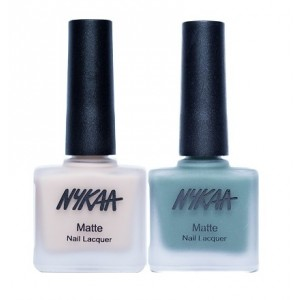 Buy Herbal Nykaa Matte Nail Enamel - Khaki Girl Combo - Nykaa