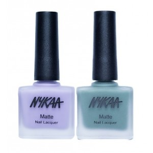 Buy Herbal Nykaa Matte Nail Enamel - Opposites Attract Combo - Nykaa