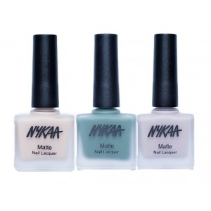 Buy Nykaa Matte Nail Enamel - Save The Last Dance For Me Combo - Nykaa