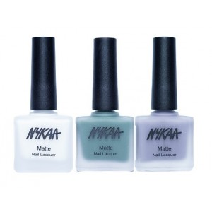 Buy Herbal Nykaa Matte Nail Enamel - Blueberry Fields Forever Combo - Nykaa