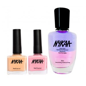 Buy Herbal Nykaa Nails Enamel - Candy Surprise Combo + Nykaa Dual Tone Nail Enamel Remover - Nykaa