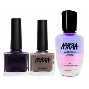 Buy Nykaa Nails Enamel - Winter Is Coming Combo + Nykaa Dual Tone Nail Enamel Remover - Nykaa