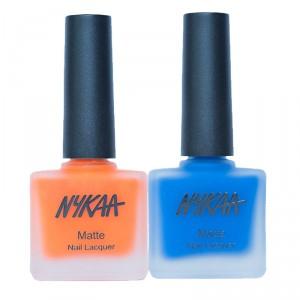 Buy Nykaa Fiery Blue Nail Enamel combo - Nykaa