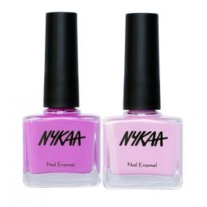 Buy Nykaa Lavender Nail Enamel Combo - Nykaa