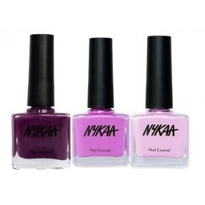 Buy Nykaa So Plum Nail Enamel Combo - Nykaa