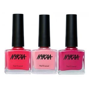Buy Nykaa Pink Blush Nail Enamel Combo - Nykaa
