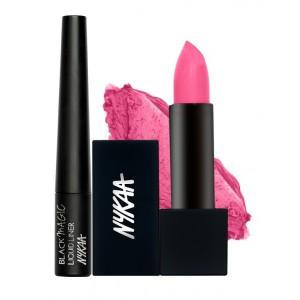 Buy Herbal Nykaa Flirty Look Eyes & Lips Combo - Nykaa
