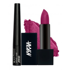 Buy Herbal Nykaa Playful Mischief Eyes & Lips Combo - Nykaa