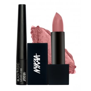 Buy Nykaa Thriller Eyes & Lips Combo - Nykaa