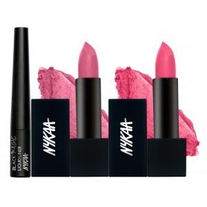 Buy Nykaa Pink Fantasy Eyes & Lips Combo - Nykaa