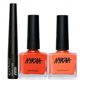 Buy Nykaa Colour To Wear Eyes & Nails Combo - Nykaa